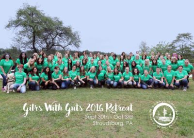Girls With Guts Group photo