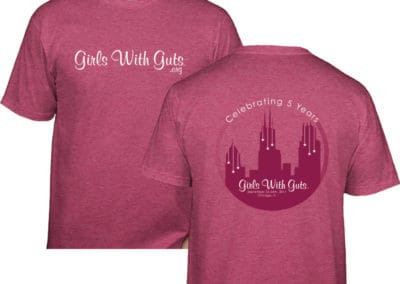 Girls With Guts Event tshirt
