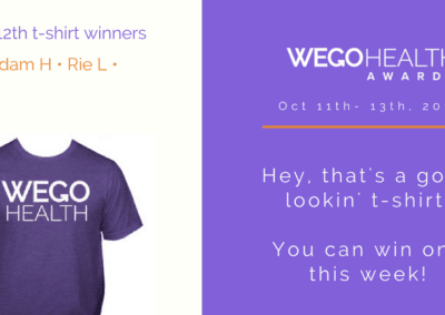 Wego health award promo