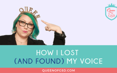 How I lost (and found) my voice