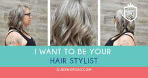 Queen of GSD - I want to be your hair stylist