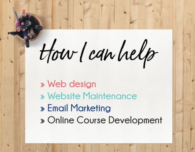Website Design Website Maintenance Email Marketing