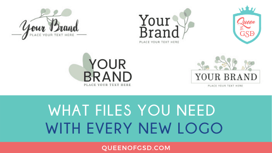 What files you need with every new logo
