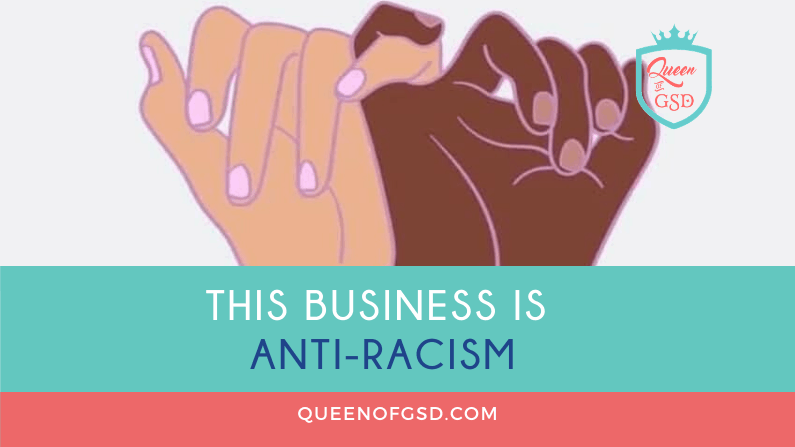 This business is anti-racism