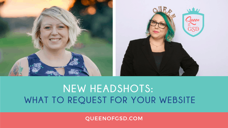New Headshots: What to request for your website